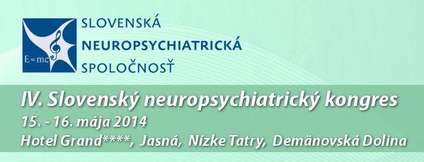 IV. Slovenský neuropsychiatrický kongres