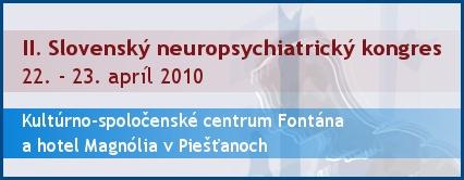 II. Slovenský neuropsychiatrický kongres